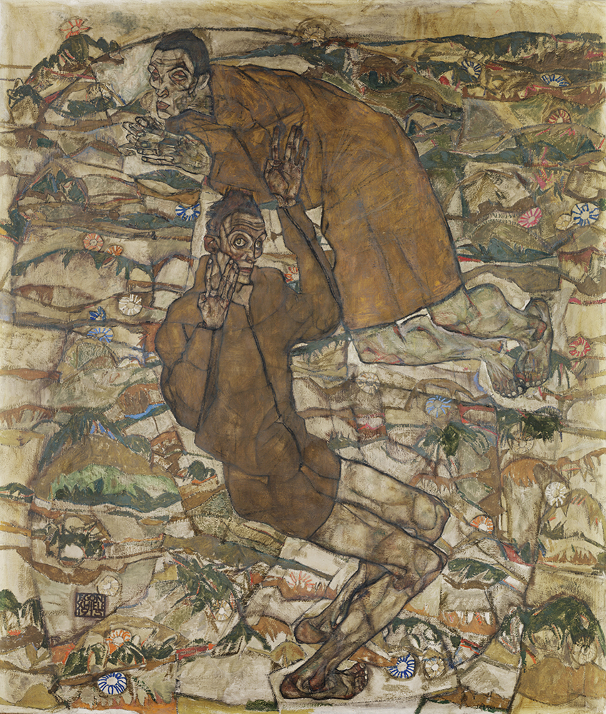 """Painting """"Transfiguration (The Blind II)"""" by Egon Schiele"""
